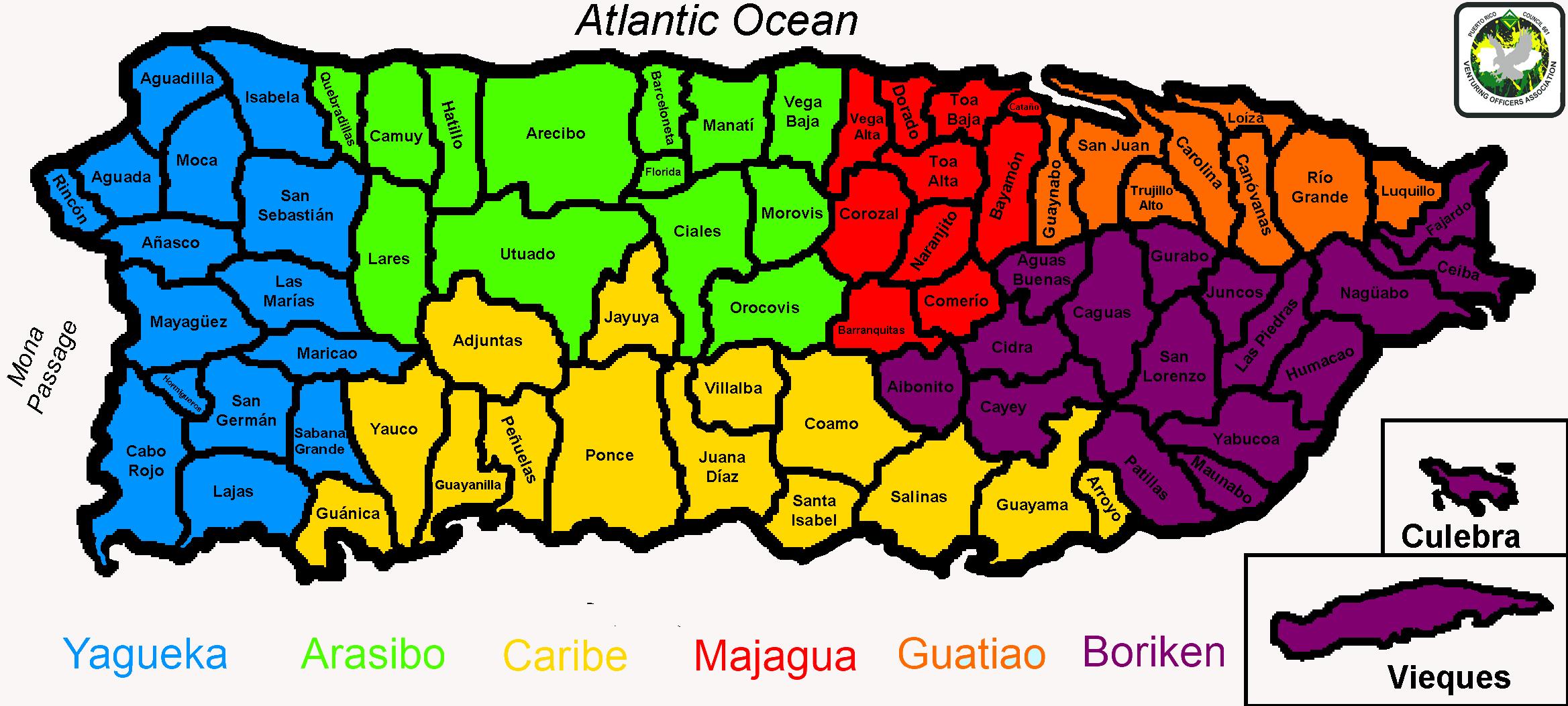 Mapa Distritos Large